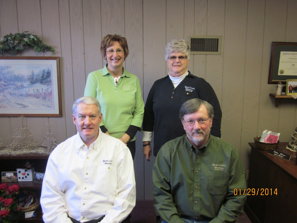 The agents at Boyd County Insurance Agency